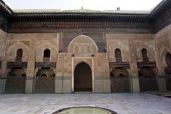 Fes El Bali Morocco-Medersa Bou Inania.3-2016 (Julia Kostecka) Tags: morocco fes madrasa medersa feselbali medersaelattarine