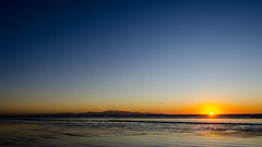 Good night (Kathrin & Stefan) Tags: ocean sunset newzealand sky beach nature island sand outdoor southisland tasmansea nzl invercargill rakiura stewartisland foveauxstrait oretibeach