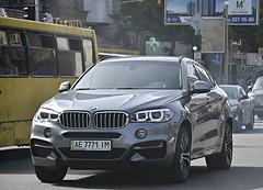 AE7771IM (Vetal 888 aka BB8888BB) Tags: ukraine f16 bmw kyiv ae licenseplates x6    ae7771im