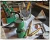 Save a Liver - Repurpose a Shot Glass (Flickr Goot) Tags: scale glass june project shot dial samsung case galaxy bullet 365 brass bt fmj gunpowder cartridge s6 caliper 2016 reloading project365 handloading