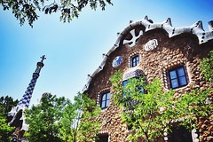 Gaudi's little heaven (mostaphaghaziri) Tags: barcelona park spain nikon gaudi gell d7200