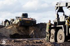 M113 gereedleggen voor avondberging