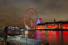 London (nigel.barry22) Tags: london westminster skyline night whitehall westminsterbridge thelondoneye theriverthemes