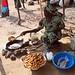 Kanua market: fresh bean cakes