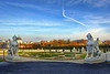 Belvedere, Vienna, Austria (Mike G. K.) Tags: vienna sky yard austria wings statues palace belvedere wein mikegk:gettyimages=submitted