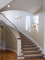 "Main curved staircase • <a style=""font-size:0.8em;"" href=""http://www.flickr.com/photos/75603962@N08/6902243710/"" target=""_blank"">View on Flickr</a>"