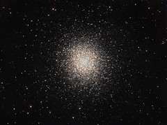 M13 under a full moon (Terry Hancock www.downunderobservatory.com) Tags: camera sky color monochrome field wheel night stars photography mono pier backyard fotografie photos space cluster ngc great shed science images off astro observatory telescope filter terry astronomy imaging hancock messier ccd universe 13 cosmos technologies hercules axis paramount luminance osc teleskop m13 astronomie byo 6205 globular deepsky guider starlightxpress flattener astrotech Astrometrydotnet:status=solved qhy5 Astrometrydotnet:version=14400 at2ff mks4000 qhy9m gt110s wwwdownunderobservatorycom 10f8ritcheychrtienastrographastrotech2 Astrometrydotnet:id=alpha20120482226737
