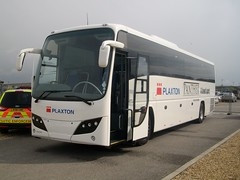 Plaxton Panther (markkirk85) Tags: uk bus buses coach rally panther peterborough coaches 2012 plaxton