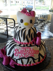 hello kitty (Royalty_Cakes) Tags: ca pink red 2 party building art cakes beautiful cake corner work team downtown artist bright sweet hellokitty awesome central creative off zebra bos edible piping 7th bows royalty sixteen tier chino sweetsixteen buttercream dst monograms brickhome wwwroyaltycakes march112012