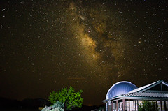 Milky Way over the Dome (Tom Heisey) Tags: longexposure lightpainting texas nightshot potd observatory crowell milkyway photooftheday 3rf csac popularphotography popphoto ranchland comanchesprings comanchespringsastronomycampus