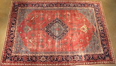 38. Semi-Antique Hand Tied Carpet