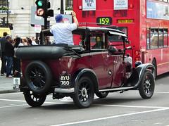 Austin Six Taxi (kenjonbro) Tags: uk red london westminster austin thomas maroon taxi trafalgarsquare charingcross 1934 109 sw1 lowloader austinsix kenjonbro fujihs10 ayu760 cheshiresaustintaxiservices