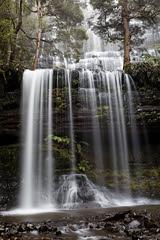 20120708-15-Russell Falls (Roger T Wong) Tags: mist water waterfall nationalpark rainforest rocks australia hike tasmania np bushwalk canonef1740mmf4lusm tramp russellfalls canon1740f4l mtfield canoneos5dmarkii