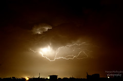 Thunderstorm/ Lightning! (Hassan Mohiudin) Tags: weather nikon monsoon thunderstorm hassan lightning islamabad rawalpindi mohiudin d5100