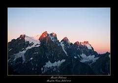 Mount Pelvoux (ed_ru) Tags: mountain sunrise pic massif pelvoux d90 écrins