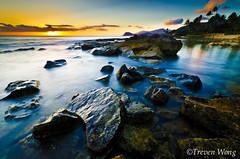 Paradise Cove (Treven Wong) Tags: ocean sunset sea sky seascape beach nature beauty sunrise landscape sand nikon wideangle d7000 photocontesttnc12