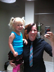 matching Tuesday clothes (blahness71) Tags: california usa ties hair clothes campbell iphone jamiehenderson amailahannlauber amailahlauber
