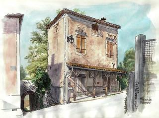 Castelfranc, maison de marinier