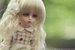 Dream girl (tjassi) Tags: girl ball asian dolls mischa bjd soom abjd gem lami teenie jointed
