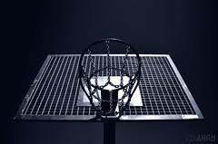 Basketball Hoop (J-Picture) Tags: vienna wien basketball sport metal hoop dark austria sterreich nikon gimp chain monochrom 1855 metall dunkel kette basketballkorb d5100 20120801