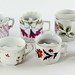 379. Group of Porcelain Moustache Cups