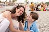 Complicity (koalie) Tags: people france beach smile towel pebbles adrien villeneuveloubet koalie coraliemercier provencealpescôtedazur byvv06 byvlad