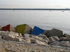 Palermo: Foro Italico (Luciano ROMEO) Tags: panorama mare barche sole azzurro celeste orizzonte porti pescatori marinerie