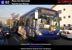 G02 | Plaza San Bernardo - Puente Los Morros (Mr. Mobitec) Tags: chile santiago bus volvo publictransport transporte marcopolo maipo santiagodechile sanbernardo transantiago volvob7rle b7rle granviale zonag troncal2 subuschile