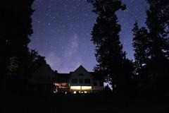 Starry night (natryann) Tags: light sky house lake night stars smithmountainlake
