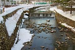 Small river in Yongpyong Ski Resort, South Korea (UweBKK ( 77 on )) Tags: winter snow ski mountains cold ice river asia frost sony south korea resort east freeze alpha dslr southkorea 550 winterbeauty baekdudaegan rememberthatmoment rememberthatmomentlevel1