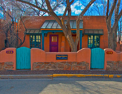 Wagner Casitas (Taos Fine Art Photography) Tags: plaza vacation compound artist lodging jim historic lane restored taos padre martinez wagner luxury casitas