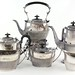 2082. Six Piece English Silver Plate Tea & Coffee Set