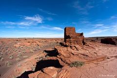Wukoki Pueblo (isaac.borrego) Tags: arizona canon rebel ruins desert xsi wukoki wupatkinationalmonument wukokipueblo