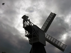 Szlmalom - Windmill (The Crow2) Tags: uk england bw london windmill panasonic wimbledon anglia dmcfz30 szlmalom thecrow2