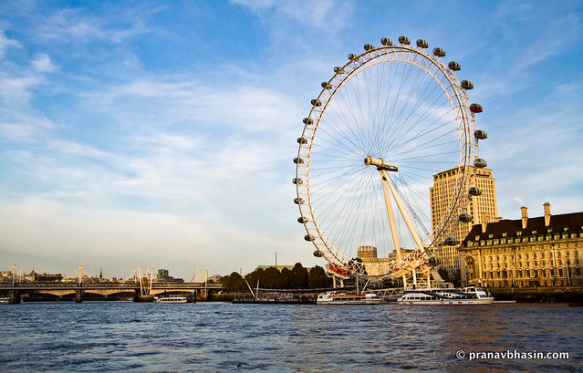 London Eye From Thames River Cruise, London