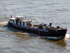 TMS 4 (Parchimer) Tags: tankmotorschiff binnentanker binnenschiff motortankschip bunkerboot hamburg elbe
