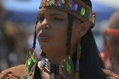 Native American Woman (Red Weasel Media) Tags: nikon dof 7100 bokeh tribal depthoffield nativeamerican va vabeach tribe 70300mm telephotolens zoomle