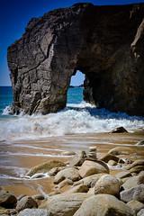 DSC_0211 (FlipperOo) Tags: voyage sea mer france color st rock port de nikon pierre vagues plage morbihan blanc roche arche quiberon instagramapp