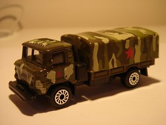 ETI/TECHNOPARK GAZ 66 ARMY TRUCK 1/64 (ambassador84 OVER 5 MILLION VIEWS. :-)) Tags: eti diecast technopark gaz66armytruck
