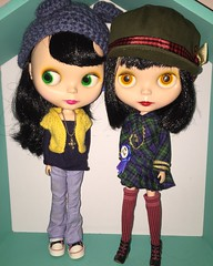 Maxie and Maddie (Starbright_Sally) Tags: blythe goldie allgoldinone tlc