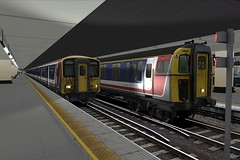 TS2016 421884  + 455914 London Victoria (jonf45 - 2.5 million views-Thank you) Tags: london lines train screenshot south victoria class cig network southeast simulator sim 411 nse 455 2016 4559 railworks ts2016