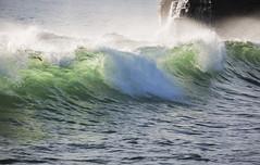 Wavy Moment (kg2km) Tags: ocean sunset bali tanahlot vividstriking