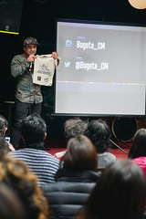 CreativeMornings/Bogot with Carlos Alarcn (CreativeMornings/Bogot) Tags: people art coffee caf breakfast bread photography design community colombia bogota arte bogot creative dream carlos cc creation bakery dibujos desayuno diseo creatividad comunidad cultura conferencia charla artista panaderia chapinero creativa creativo alarcn creacin desayunar creativemorning creativemornings cmbog creativemorningsbogota creativemorningsbogot casa969