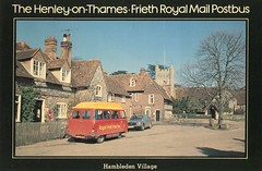 The Henley-on-Thames to Frieth Royal Mail Postbus . (AndrewHA's) Tags: bus 2000 post mail royal pb maidstone minibus henleyonthames commer rootes hambleden freith