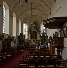 Megen - Minderbroederskerk (grotevriendelijkereus) Tags: holland church netherlands town village interior nederland baroque convent kerk brabant stad klooster dorp noord barok plaats megen