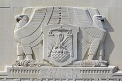 Louisiana State Capitol (Flagman00) Tags: sculpture building monument architecture louisiana coatofarms state eagle outdoor pelican relief capitol batonrouge artdeco allegory