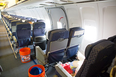 2016_04_06 American Airlines 727 restoration-18 (jplphoto2) Tags: cabin interior americanairlines boeing727 kbfi americanairlines727 jeremydwyerlindgren jdlmultimedia boeing727cabin