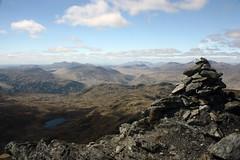 Beinn Chabair (mcleodan) Tags: mountain clouds walking landscape scotland hills climbing trossachs cairn rugged munro beinn chabair