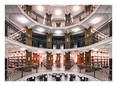 National Library (Vesa Pihanurmi) Tags: interior architecture floors library hall finland helsinki rotunda gustafnystrm 1906 nationallibrary