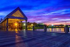 Sunset (liveonet1) Tags: blue sunset red color nikon charleston starlight 2470